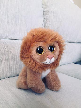 Pluszak lew - zabawka dla dziecka, pluszowy
