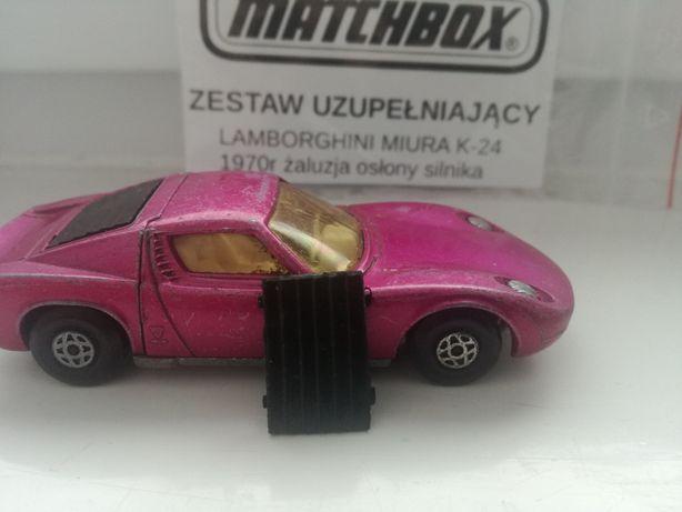Lamborghini miura matchbox k-24 zestaw naprawczy