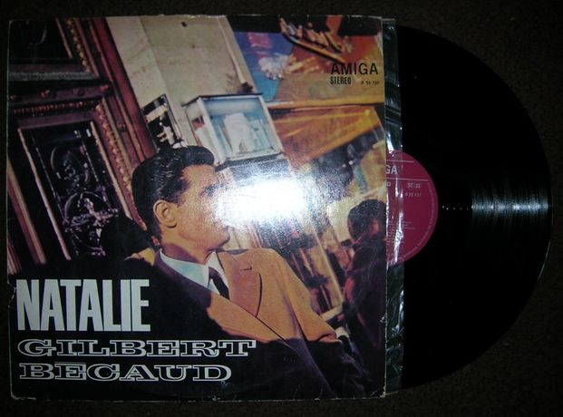 Gilbert Becaud – Natalie. Płyta winylowa