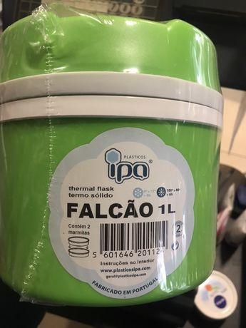 Vendo garrafa termica c/ 2 marmitas NOVA