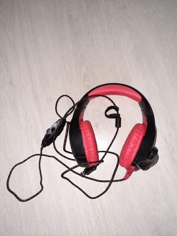 Słuchawki przewodowe Mad Dog GH701 +myszka gratis