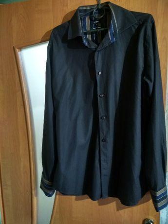Рубашка черная 250 рублей