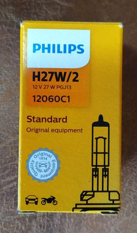 Галогенные лампы: PHILIPS (H27).