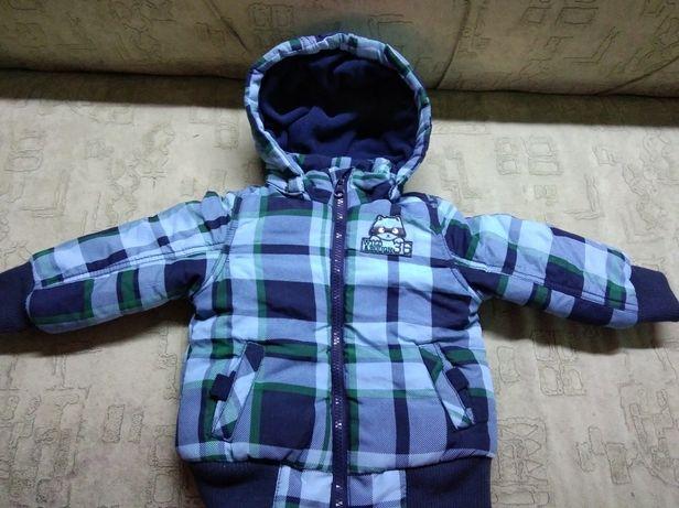 Куртка на хлопчика осінь-зима