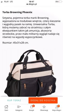 Torba browning 45x31x28