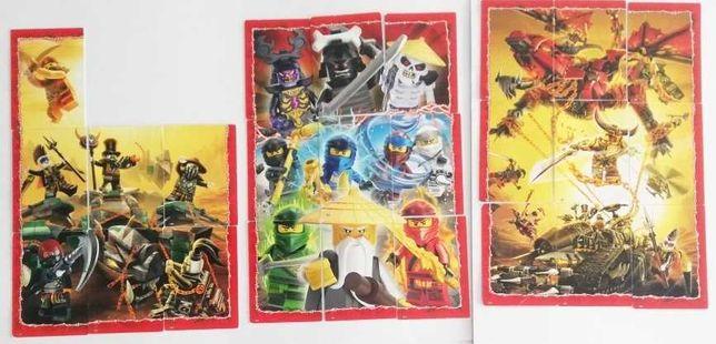 25 kart Lego Ninjago seria 4 PUZZLE karty 2019r.