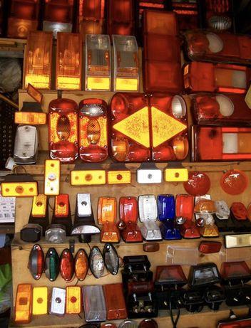 Светотехника,отражатели,фонари,рожки,комплектующие для прицепов