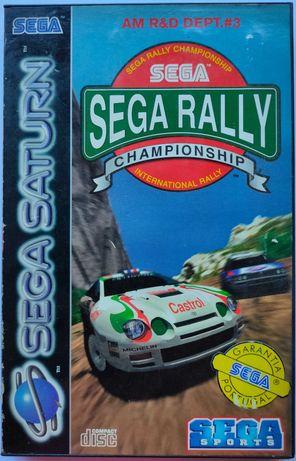 Sega Rally Championship (Sega Saturn)