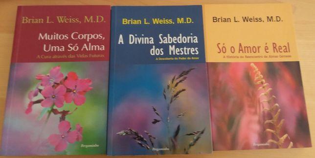 Livros Auto-Ajuda, Desenvolvimento Pessoal - Pack Brain Weiss