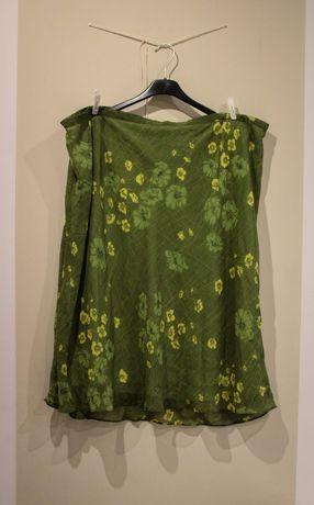 Spódnica w kolorze zieleni