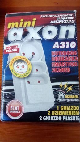 Przeciwprzepięciowe urządzenie Mini Axon A310, laptop, drukarka, skane