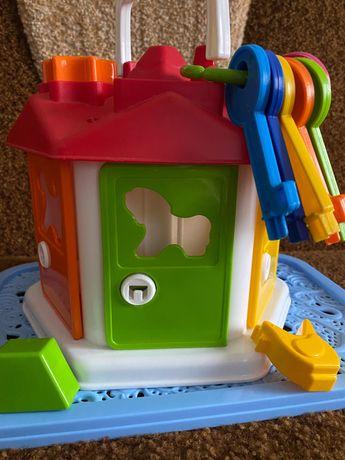Розвиваюча іграшка сортер