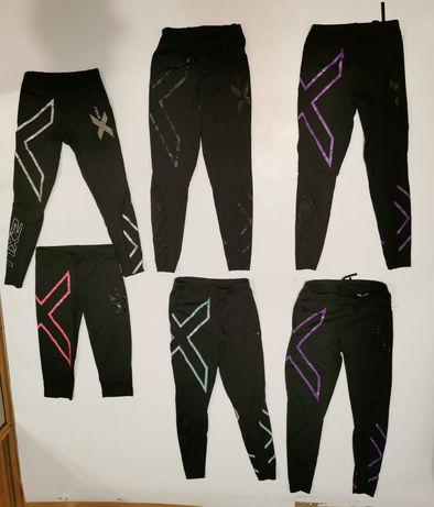6 par legginsy 2XU Kompresyjne roz.XXS/XS/S,leginsy,gertry,spodnie,m/l