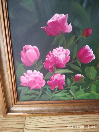 Vendo quadro pintura óleo