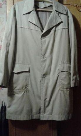Плащ на утеплителе (отстёгивается) мужской серый до -5 100 грн