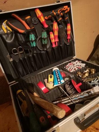 zestaw dla MONTERA ELEKTRYKA narzędzia walizka