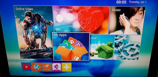 TV Box MXQPRO 4K Android TV