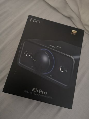 Amplificador Fiio K5 pro NOVO + Garantia de 1 ano