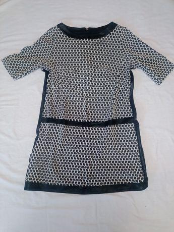 Sukienka czarno-szara rozm 42