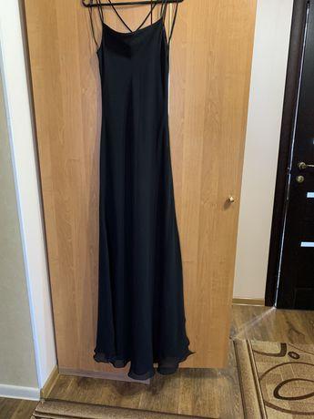 Платье комбинация, платье в пол, платье макси длина