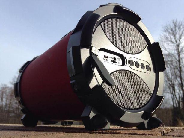 Glosnik przenosny MP3 Bluetooth Radio budowlane Subwoofer Boombox Tuba