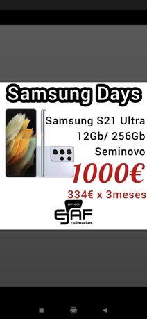 Samsung s21 ultra 5g 256gb,  temos loja em Guimarães