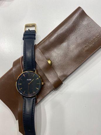 Czarno złoty zegarek Cluse