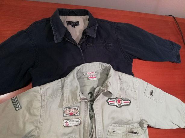 2 x kurtka jeansowa HM 92