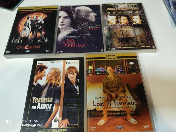 DVDs vários filmes