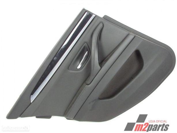 Forra da Porta em Pele PELE PRETA  Cor Unica Esquerdo/Trás BMW 5 (F10)/ALPINA D5...