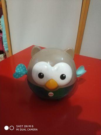 Zabawka sowa z piłkami