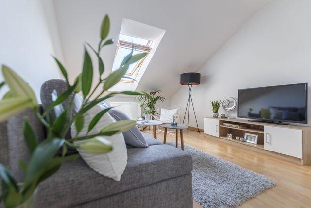Komfortowe mieszkanie z możliwością korzystania z dużego ogrodu