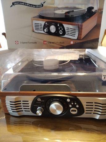 Gramofon Turntable Stereo USB-MP3 Playback
