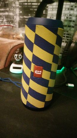 Głośnik Flip - Niebieski w kratkę