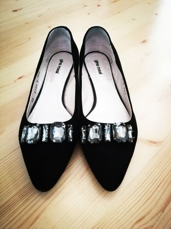 Skórzane buty Gino Rossi r. 38