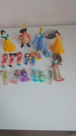 Figurki, księżniczki, lalki