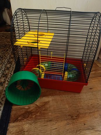 НОВАЯ КЛЕТКА для грызунов крыс кроликов+с лабиринтом