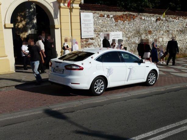 Białe auto, samochód, limuzyna do ślubu, wesela TANIO Pabianice Zelów