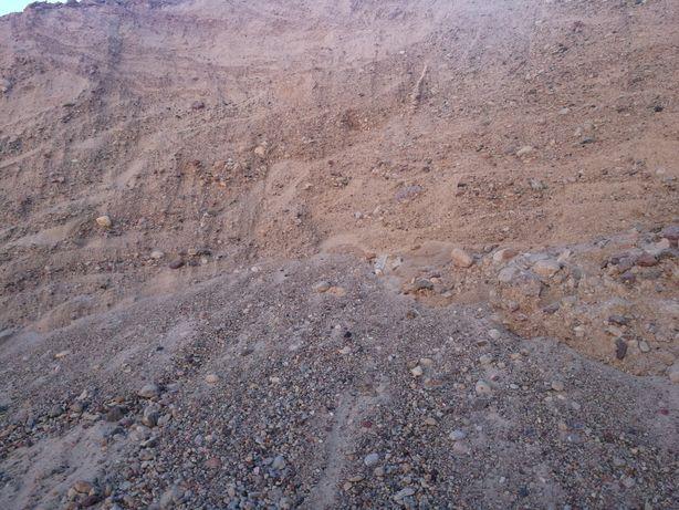 Kamień kliniec tłuczeń otoczak piasek skrywa Pospółka ziemia