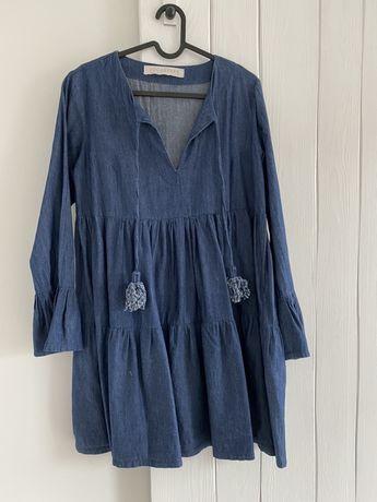 SUGARFREE sukienka jeansowa M