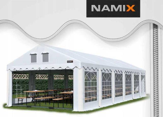 Namiot ROYAL 6x12 ogrodowy imprezowy garaż wzmocniony PVC 560g/m2