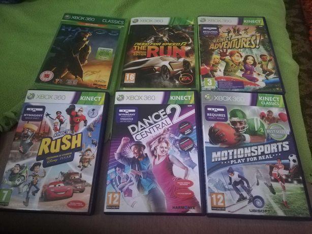 Gry Xbox 360 z kinect