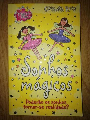 """Livro """"Sonhos Mágicos"""", de Gwyneth Rees"""