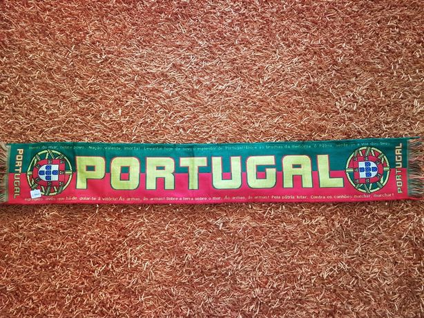 OFERTA PORTES - Cachecol NOVO Desportivo Selecção Portugal