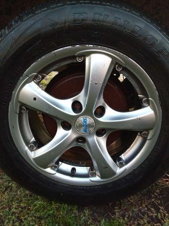 Легкосплавні диски R16, гума