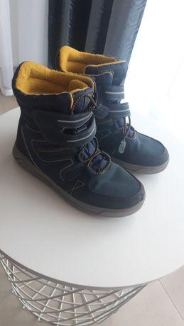 Buty zimowe kozaki śniegowce 34