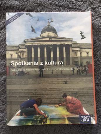 """Podrecznik do wiedzy o kulturze """"Spotkania z kulturą"""""""