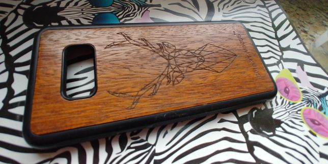 Drewniane Etui case Samsung Galaxy S8+ Plus SmartWoods
