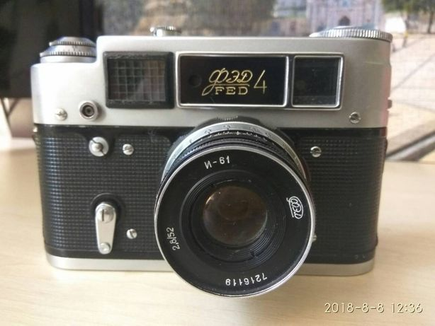 Продам советский фотоаппарат ФЕД 4