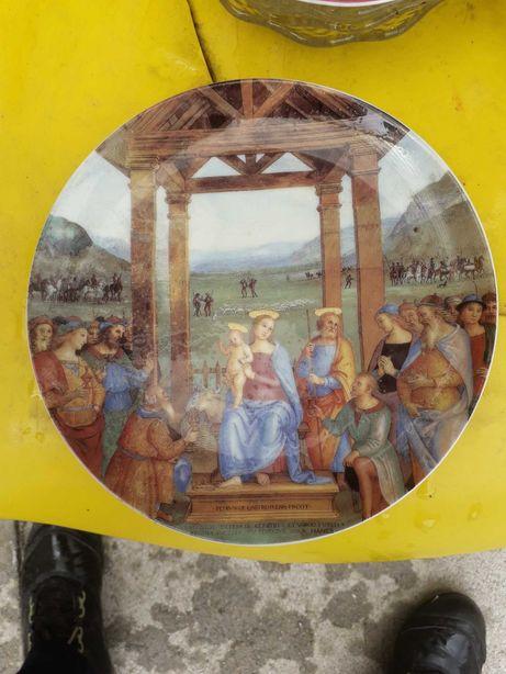 Prato festa de natal Exclusiva VA 2003